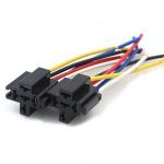 Колодка для автомобільного реле з проводами 5pin