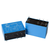 Реле SANYOU SZ-S-112D 12V електромагнітне 16A 240VAC