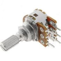 Потенціометр R16110G 10K L=15mm подвійний
