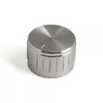 Ручка для потенціометра D-23mm H-17mm срібна