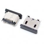 Гніздо micro USB 5pin з заглушкою