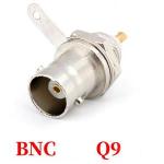 Гніздо високочастотне BNC Q9 на корпус