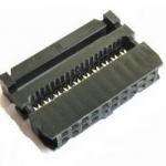Роз'єм IDC-20 розетка на шлейф 2.54mm 20pin