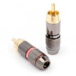 Штекери на кабель RCA MONSTER CABLE (пара)