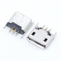 Гніздо Micro USB 5pin контакти 2 ряди край вигнутий