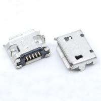Гніздо micro USB 5pin край вигнутий (між отворами 7.2мм)