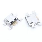 Гніздо micro USB 5pin на плату в отвір