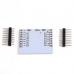 Плата перехідна ESP8266 для ESP-07 ESP-08 ESP-12 крок 2.54мм