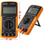Мультиметр цифровий DT-9205A LCD жовтий