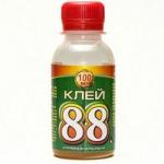 Клей універсальний 88 в пластиковій пляшці 100г