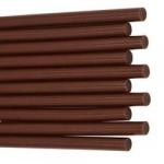 Термоклей коричневий 7мм 250мм для клейового пістолета